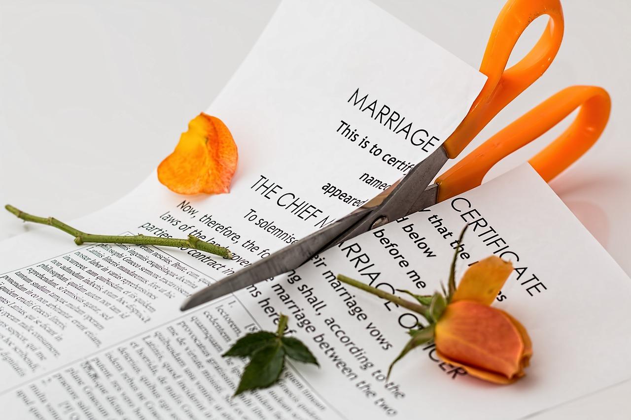 Les procédures dans une annulation de mariage
